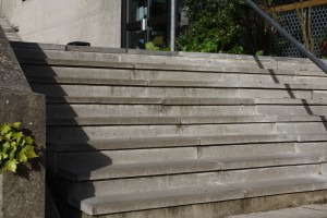 Precast Steps at Exeter University