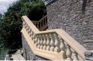 baluster and stairs