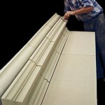 Hand finishing Cast Stone Architrave
