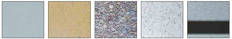 range of finshes from wet cast, acid etch, exposed aggregate and slip resistant